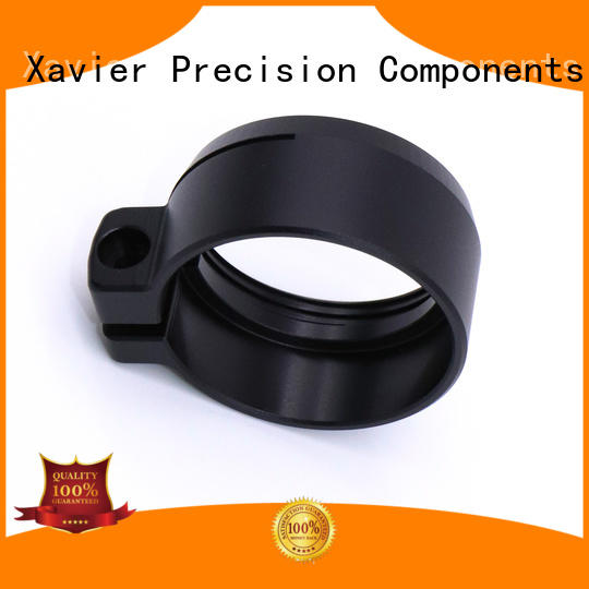 custom cnc machining Black Anodized CNC machining clamp parts