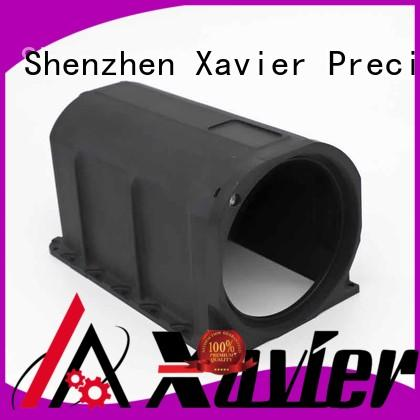 Xavier high-precision cnc machining parts black anodized