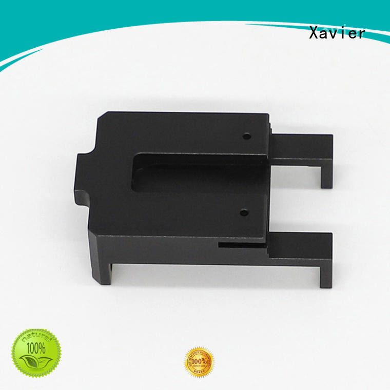 Xavier cost effective cnc precision machining black anodized