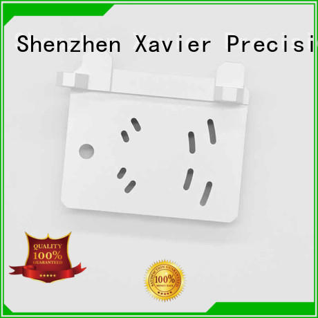 Xavier cost effective cnc machining parts black anodized for wholesale