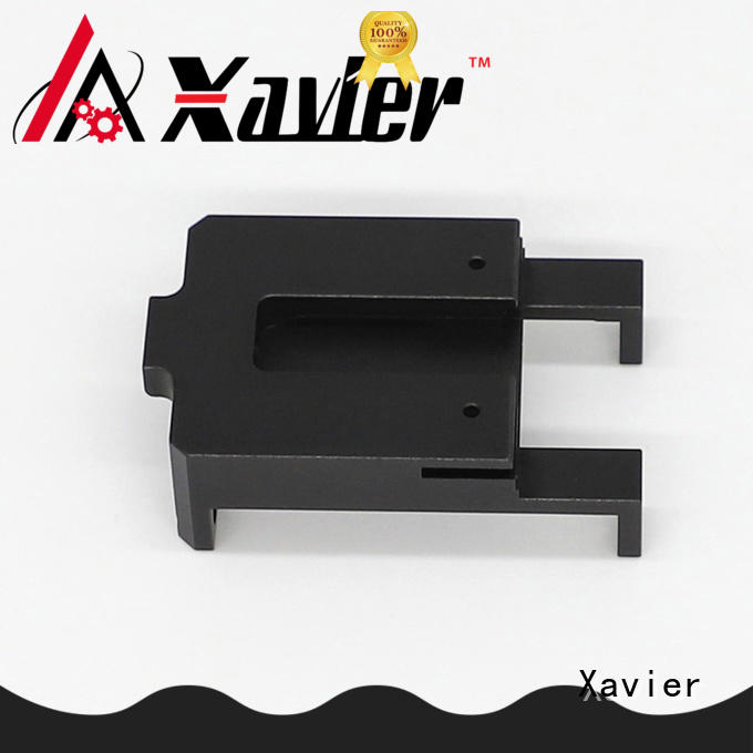 Aluminum alloy bracket for helmet of defense personnel cnc precision machining