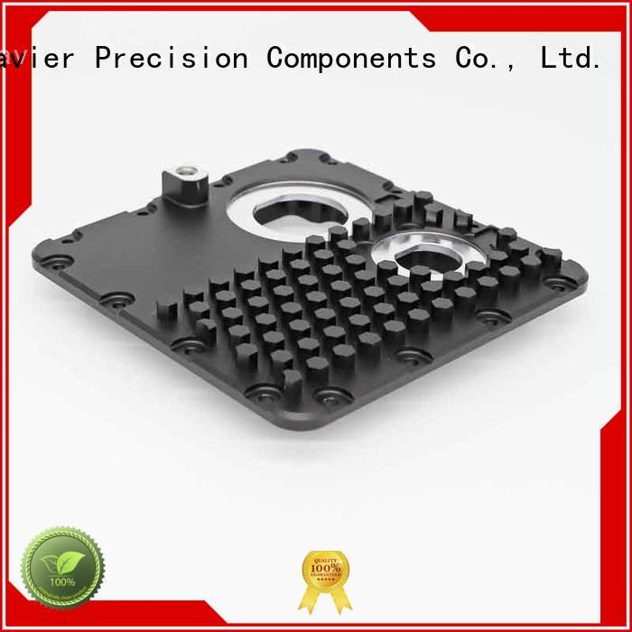 top-quality aluminum machining part high-precision black anodized at discount