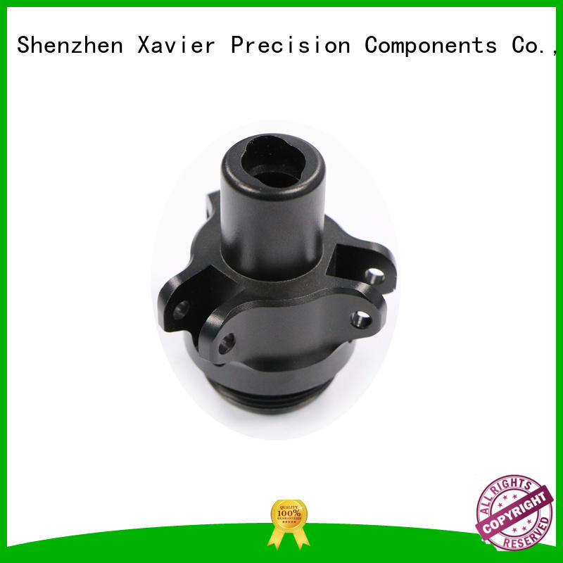Xavier high-precision cnc precision machining black anodized for night vision