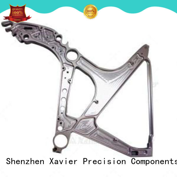 Xavier high-precision cnc machined spare parts aluminum alloy frame at discount