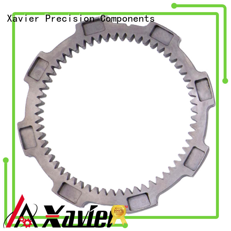 Xavier stainless steel cnc machining gears OBM for wholesale