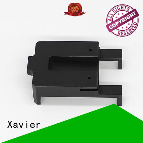 Xavier sub-assembly cnc machining parts black anodized for wholesale