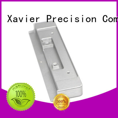 Xavier top-quality custom machined parts aluminum alloy at discount