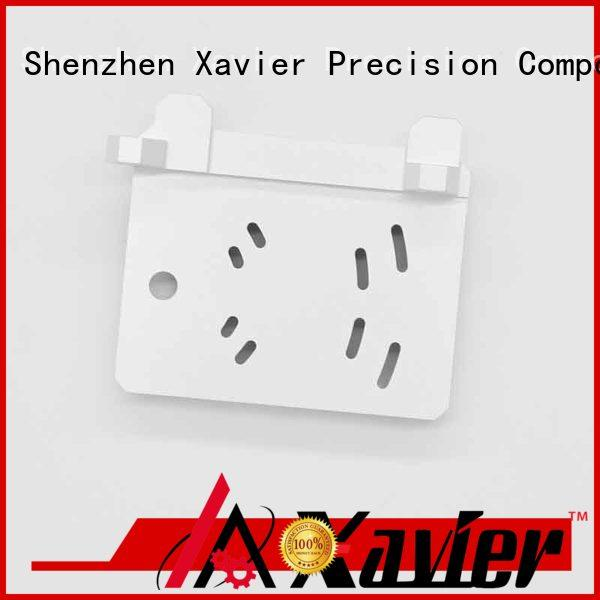 Xavier cost effective cnc machining parts black anodized for night vision