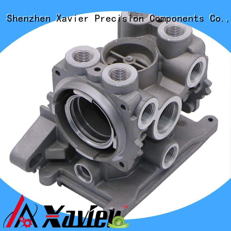 Aluminumn die casting upper valve body for hydraulic power unit valve plate