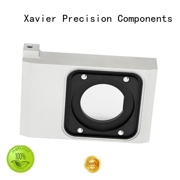 Xavier cnc machined camera lens parts housing from top factory