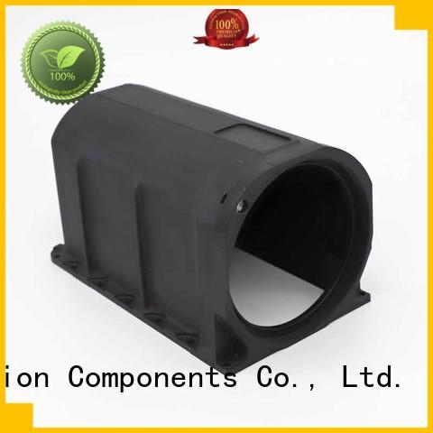 high quality custom cnc machining black anodized for wholesale Xavier