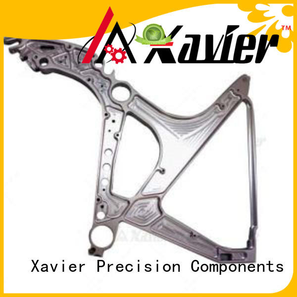 Xavier high-precision aerospace component aluminum alloy frame for wholesale