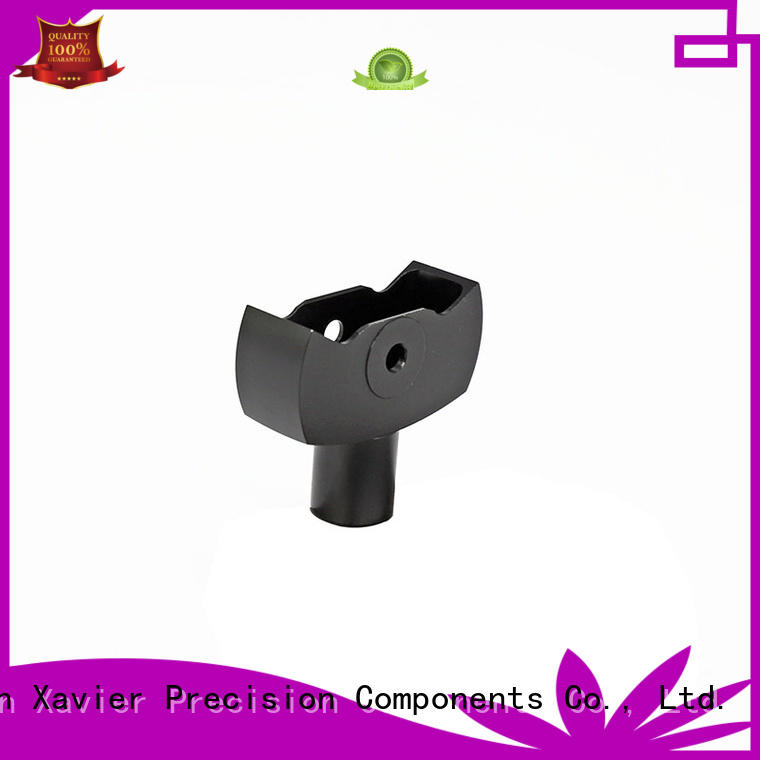 rotating cnc machining bipod parts aluminum oem for wholesale
