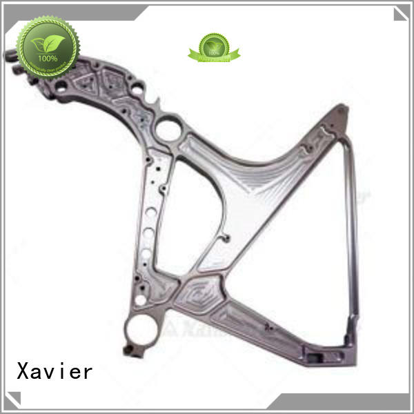Xavier milling precision aerospace components aluminum alloy frame for wholesale