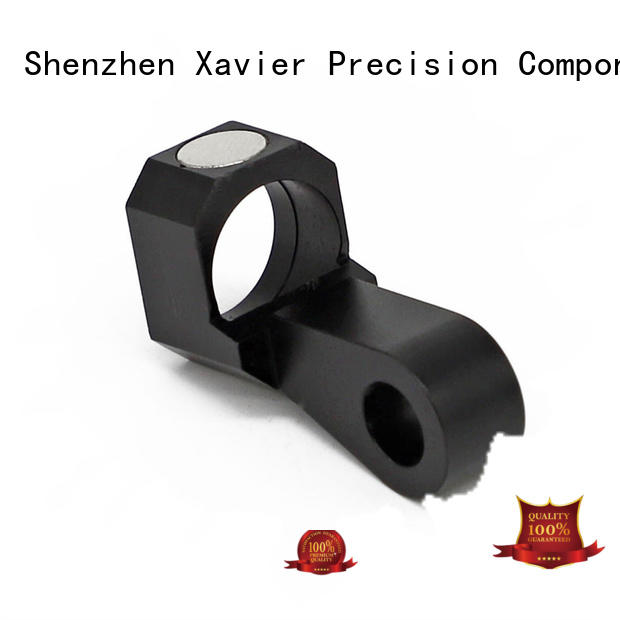 Xavier aluminum bipod cnc components oem from top factory