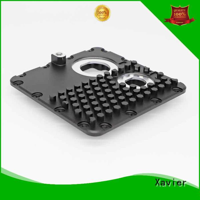 cost effective precision cnc machining high-precision black anodized for night vision