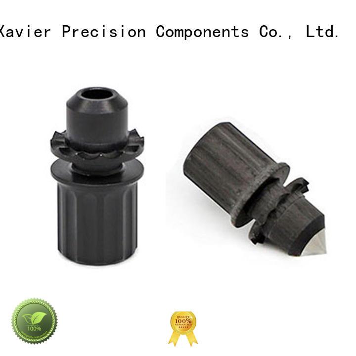 Custom CNC machined Carbon Fiber Aluminum Bipod Feet parts
