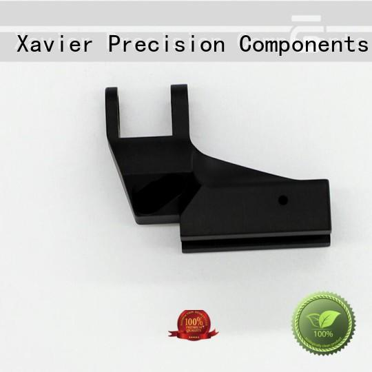 Xavier high-precision machined parts black anodized at discount