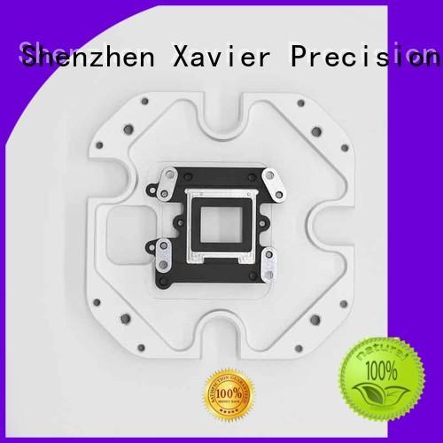 Xavier high-precision custom machined aluminum parts at discount