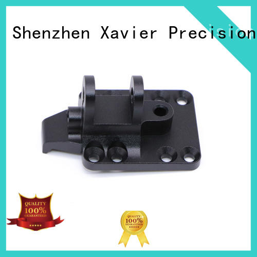 Xavier cost effective custom cnc machining black anodized at discount