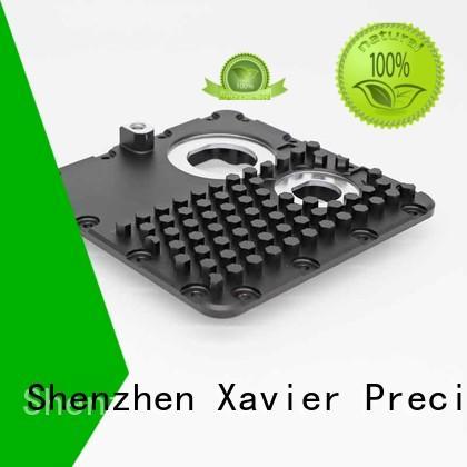 Xavier high quality custom cnc machining black anodized at discount