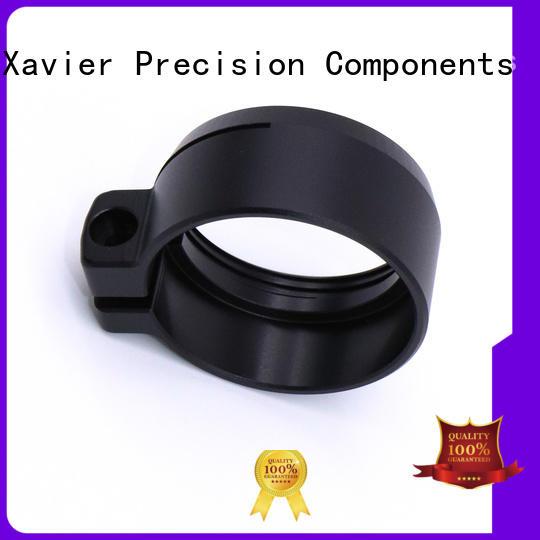 custom cnc machining Black Anodized CNC machining clamp parts