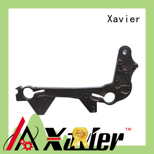 Xavier custom cnc machined spare parts aluminum alloy frame for wholesale