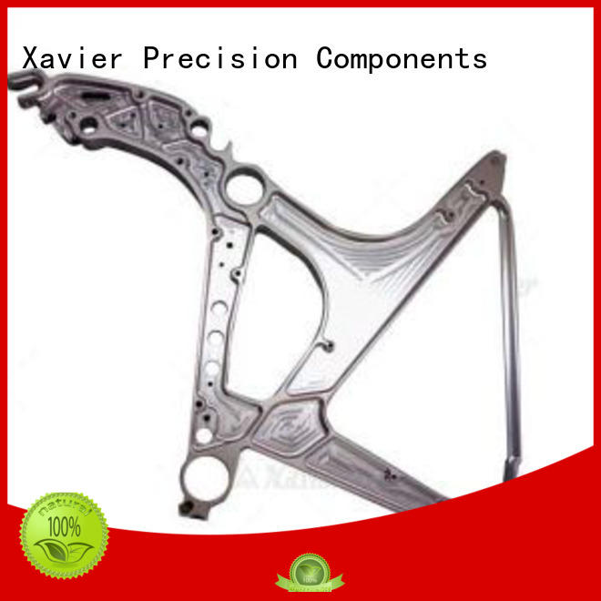 Xavier milling aerospace machining seating components at discount