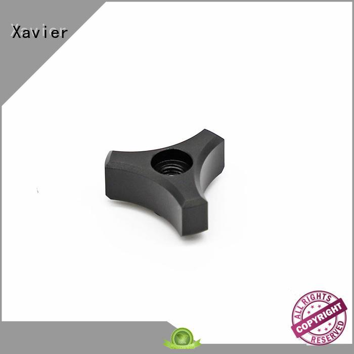 CNC machined aluminum torque adjustment flange parts for bipod