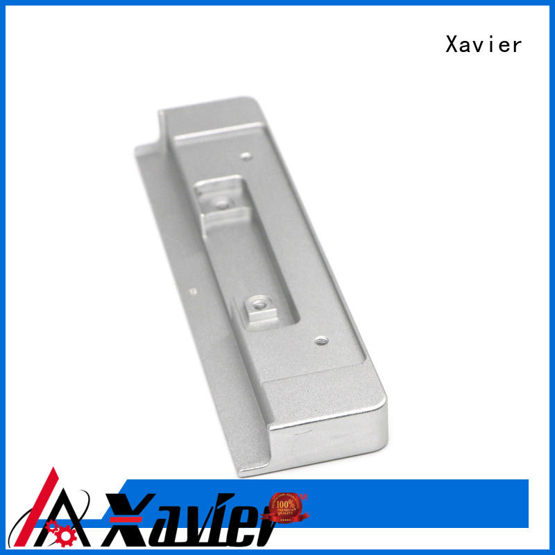 Xavier sub-assembly cnc machining parts black anodized at discount