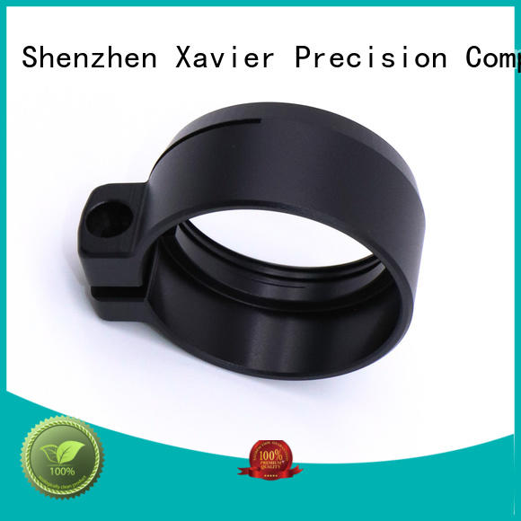 high-quality precision turned components black anodized at sale