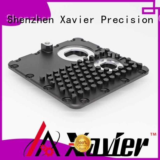 sub-assembly precision cnc machining high quality black anodized